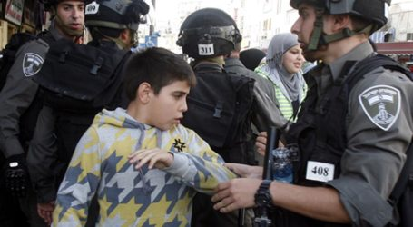 FIVE PALESTINIAN CHILDREN ARRESTED BY ISRAEL EVERY DAY FOR THE PAST 48 YEARS