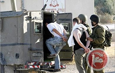 ISRAELI FORCES DETAIN 2 PALESTINIANS FROM HEBRON
