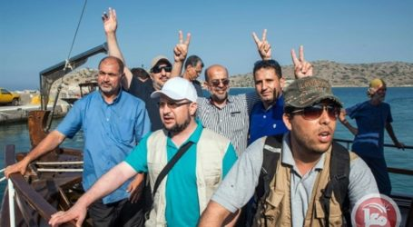 ISRAELI NAVAL FORCES PREPARE TO INTERCEPT GAZA FLOTILLA
