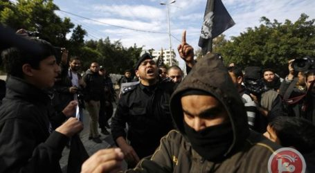 GUNMAN KILLED IN CLASHES WITH HAMAS SECURITY IN GAZA CITY