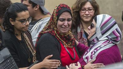 EGYPTIAN FEMALE ACTIVIST JAILED FOR 15 MONTHS