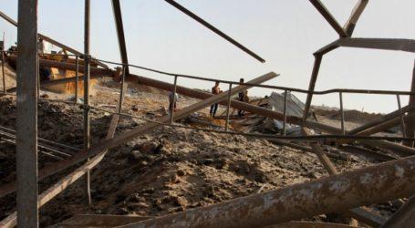 ISRAEL TARGETS NORTHERN GAZA, SHUTS CROSSINGS AFTER ROCKET FIRE