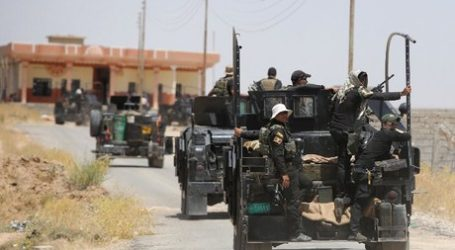 IRAQI FORCES PUSH BACK IS IN BAIJI