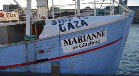 ISRAEL WARNS IT WILL INTERCEPT GAZA-BOUND FREEDOM FLOTILLA