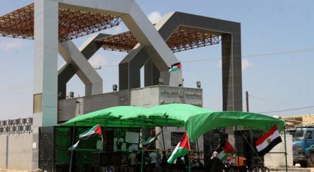 GAZAN BEGIN HUNGER STRIKE UNTIL RAFAH CROSSING REOPENS