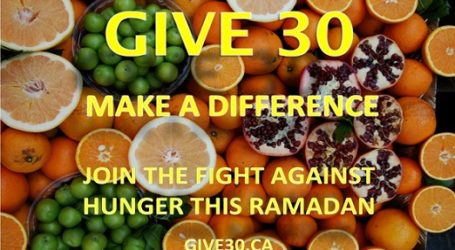 CANADA MUSLIMS DEDICATE RAMADAN TO FIGHT HUNGER