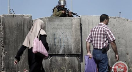 ISRAELI FORCES CLOSE MAIN CHECKPOINT IN NABLUS