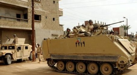 EGYPTIAN OFFICERS INJURED IN NORTH SINAI, ARMY SAYS 12 MILITANT KILLED