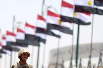 EGYPT DETAINS 63 MUSLIM BROTHERHOOD MEMBERS