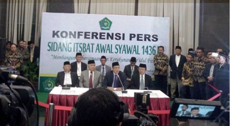 INDONESIA GOVT DECIDES 1 SHAWWAL FRIDAY