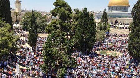 ORTHODOX JEWISH GROUPS ENCOURAGE FURTHER RAIDS OF AL-AQSA