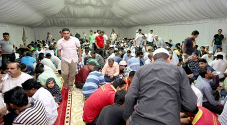 BAHRAIN MOSQUE FEEDS THOUSANDS IN RAMADAN