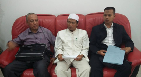 JAMA'AH MUSLIMIN (HIZBULLAH) CONVEYS STATEMENT TO CHINESSE EMBASSY ON BANNING OF FASTING