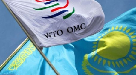 KAZAKHSTAN WILL OFFICIALLY JOIN WTO ON MONDAY
