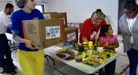 ISLAMIC RELIEF USA DISTRIBUTES FOOD DURING RAMADAN