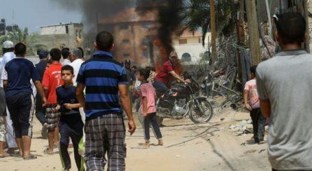 4 KILLED, DOZENS INJURED AS ISRAELI ORDNANCE EXPLODES IN GAZA