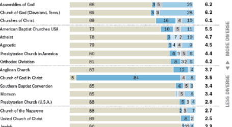 ISLAM TO BE AMONG MOST DIVERSE RELIGIONS IN AMERICA:  STUDY