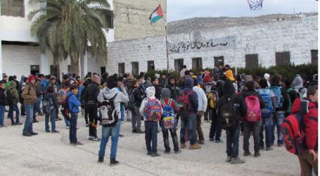 1.2 MILLION PALESTINIAN STUDENTS START SCHOOL YEAR 2015 – 2016