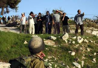 Palestinians Successfully Expelled Dozens of Illegal Settlers