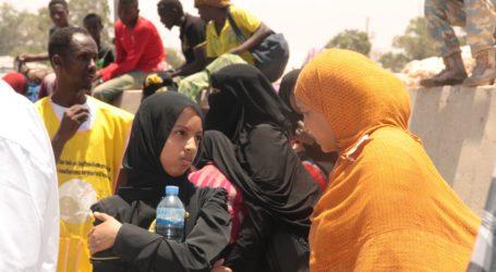 YEMENI REFUGEES FLEE TO DJIBOUTI