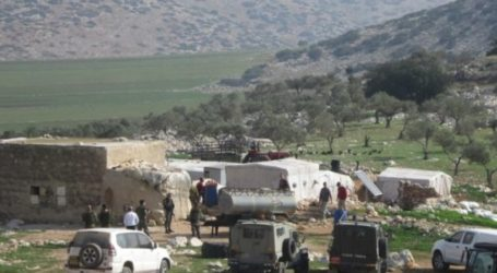 ISRAELI SOLDIERS DEMOLISH FAMILY HOME AND AGRICULTURAL FACILITY IN TUBAS