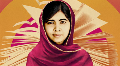 WITH GIGGLES AND CONFIDENCE, MALALA PREPARES FOR MOVIE RELEASE