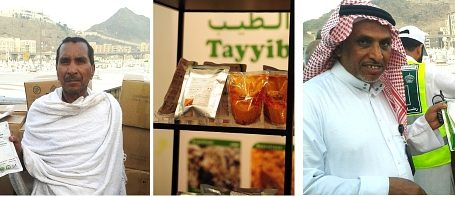 THOUSANDS FED TAYYIB HALAL READY TO EAT MEALS DURING HAJJ