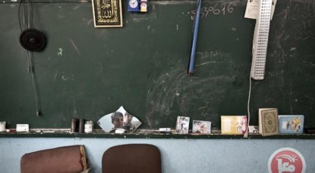 GAZA EMPLOYEES STRIKE DEAL TO END UN SCHOOL CRISIS