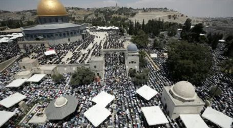 ISRAEL IMPOSES SEVERE AQSA ENTRY RESTRICTIONS AHEAD OF JEWISH FESTIVAL