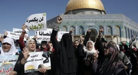 CLASHES BREAK OUT AT AQSA COMPOUND ON LAST DAY OF EID HOLIDAY