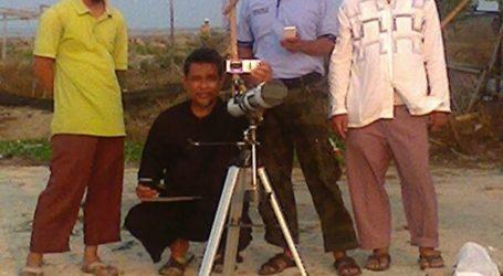 MOON SIGHTING OF FIRST DHULHIJJAH SEEN IN INDONESIA