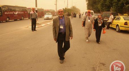 EGYPT ALLOWS 500 PALESTINIAN PILGRIMS CROSS RAFAH