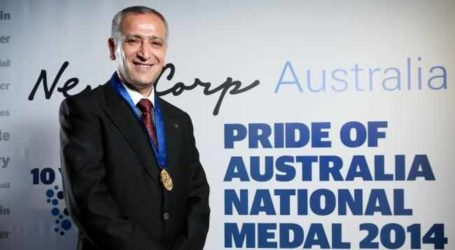 MUSLIM NAMED AUSSIE FATHER OF THE YEAR