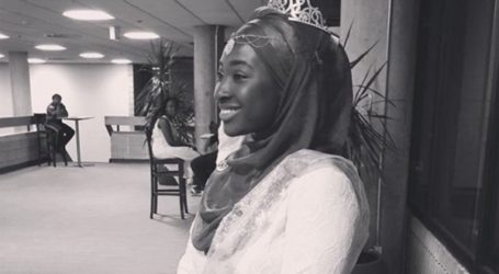 MUSLIM STUDENT WINS MS. RUTGERS PAGEANT