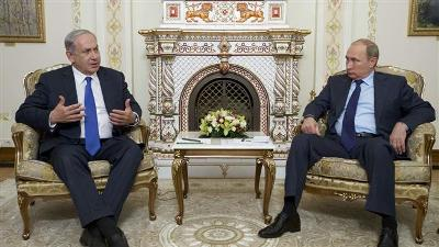 ISRAEL SEEKS TO AVOID CLASHES WITH RUSSIA IN MIDEAST: NETANYAHU