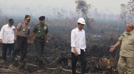 INDONESIAN PRESIDENT REVIEWS SMOKE DISASTER UNTIL GROUND ZERO