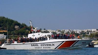 TURKEY: 22 REFUGEES DIE AS WOODEN BOAT CAPSIZES OFF COAST