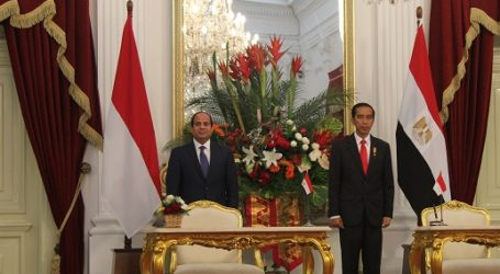EL-SISI: EGYPT WANTS TO LEARN A LOT FROM INDONESIA