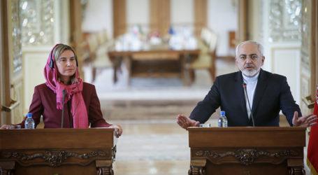 EU, IRAN DISCUSS PUSH FOR PEACE IN SYRIA