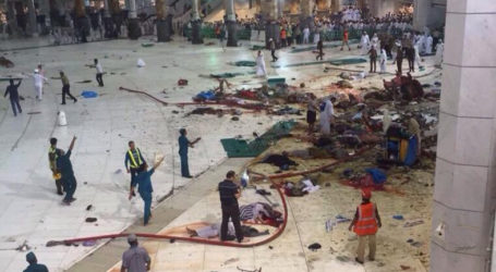 MORE THAN 100 KILLED IN MAKKAH CRANE COLLAPSE