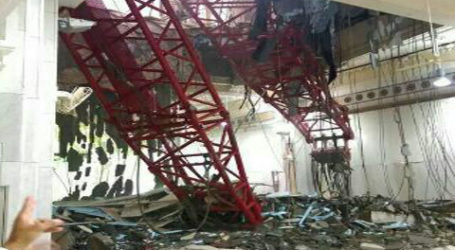 TWO INDONESIANS DEAD, 31 INJURED IN MECCA CRANE ACCIDENT