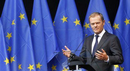 EU'S TUSK CALLS REFUGEE CRISIS SUMMIT FOR SEP 23