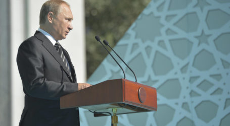 U.S. SUPPORT FOR SYRIA OPPOSITION, PUTIN SAYS AHEAD OF OBAMA MEETING
