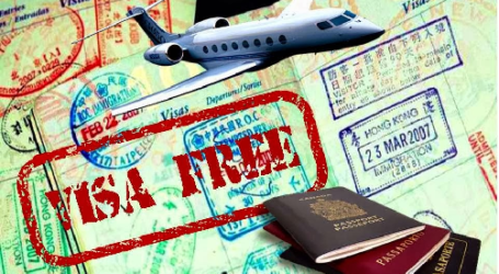 VISA FREE TRAVEL OFFERED TO VISITORS FROM 45 MORE COUNTRIES
