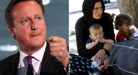 UK PM PROMISES TO ACCEPT THOUSANDS MORE SYRIAN REFUGEES