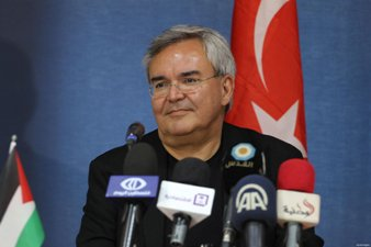 TURKISH DELEGATION VISITS GAZA