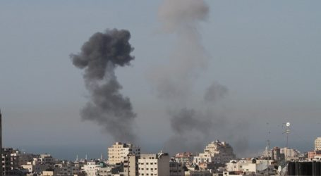 ISRAELI MOCK RAIDS ON GAZA