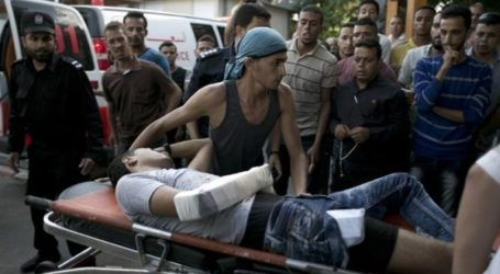 5 SHOT, INJURED, 1 CRITICALLY, IN GAZA CLASHES