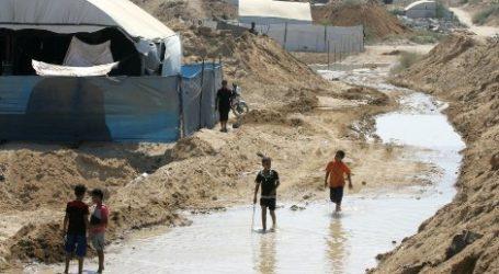 PLC WARNS EGYPT: FLOODING TUNNELS WILL HARM PALESTINIAN ECONOMY