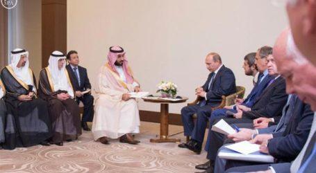 RIYADH-MOSCOW JOIN HANDS AGAINST 'TERRORIST'